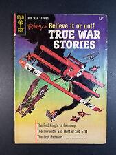 Ripley's Believe it or Not True War Stories #1 (1965)