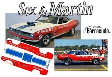 CD_MM_045 Ronnie Sox 1971 Plymouth Hemi Cuda Pro Stock    1:18 decals