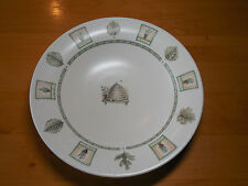 Pfaltzgraff USA NATUREWOOD Portfolio 12 1/2 in Rimmed Pasta Salad Serving Bowl