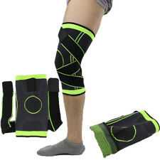 3d Pressurized Fitness Cycling Knee Support Braces Elastic Nylon Sport Pad 1Pc