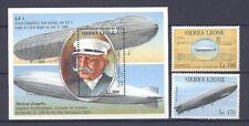 Luftschiffe, Zeppeline - Sierra Leone - ** MNH 1992