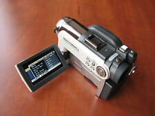 Excellent condition Hitach DVD CAM digital video recorder camcorder with acc.