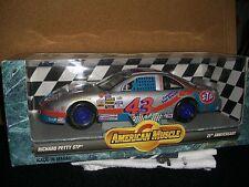 1/18 Ertl 1996 nascar #43 Bobby Hamilton STP Pontiac Silver 25th Anniv.