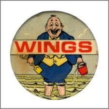 Paul McCartney 1973 Wings Fatman UK Tour Promotional Pin Badge (UK)