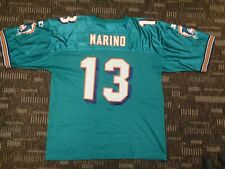 Dan Marino #13 Miami Dolphins Fish Starter Mens Green Nfl Game Football Jersey