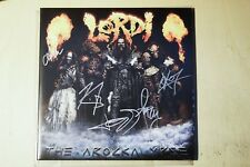 Lordi ‎– The Arockalypse - LP - Blue Edition - Signed Autographed - Vinyl