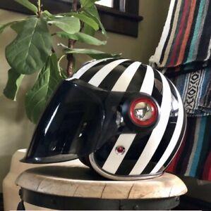 Ruby Motocycle Helmet Belvedere Shinjuku Size S - 3 Shields