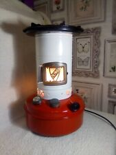 UPCYCLED VINTAGE VALOR STOVE CONVERTED INTO A LIGHT