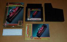 Nintendo NES 8 Bit US NTSC spel game SUPER SPRINT TENGEN CIB OVP complete