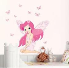Removable Wall Sticker Fairy Elf  Decal For Kids Nursery Baby Room home decor