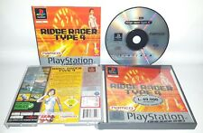 RIDGE RACER TYPE 4 PAL - PlayStation 1 PS1 Play Station Game Bambini Gioco