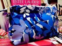 Estee Lauder Gift Cosmetic Bag☾*Happy Youth Blue*☽◆*~*Beautiful*~*☾H / 25% OUT!☽