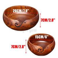Garnschale Schüssel Handstrickgarn Bowl Wollschale Stricken Häkeln 20-15CM