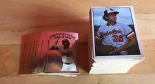 1981 Topps Baseball Complete Baseball Set (1-262)Sticker Set with Book