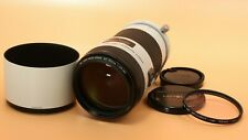 Excellent+++ Minolta white lens AF 80-200mm F2.8 APO Hige Speed From Japan #3982