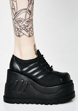 DEMONIA STOMP 08 PLATFORM SHOES