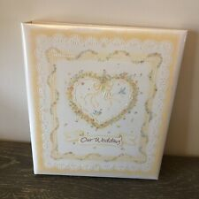Hallmark Our Wedding Memories Keepsake Album Guest Memory Book 3 Ring