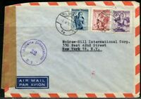 AUSTRIA LOT OF 6 CENSORED COVERS AS SHOWN
