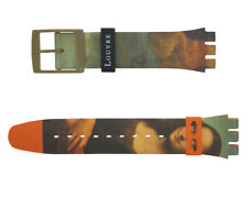 Original Swatch x Louvre New Gent 19 mm Armband Lisa Masquee ASUOZ318, Neuware