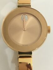 MOVADO Bold Rose Dial Rose Gold Ion-plated Ladies Watch Item No. 3600202