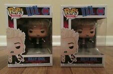 (2) Funko Pop! Rocks Billy Idol #99 Billy Idol Vinyl Figure Bobblehead Brand New
