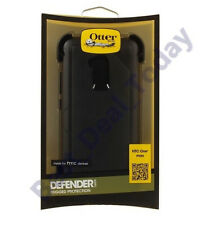 Oem Otterbox Defender Rugged Case Cover/Clip For HTC 1 One Max T6 Blac