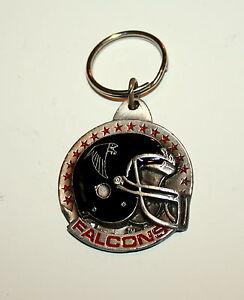 Atlanta Falcons NFL Football Helmet Team Key Chain NOS 1991 New Siskiyou