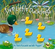 Five Little Counting Bks.: Five Little Ducklings by Sally Hopgood -NEW raised!