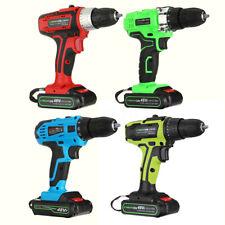 48V Cordless Combi Drill Impact Driver LED Worklight Screwdriver +Li-Ion  ☆UK☆