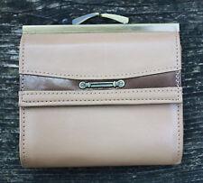 Faux Leather Beige wallet