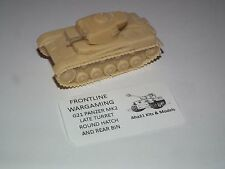 WWII GERMAN PANZER MKII TANK RESIN MODEL KIT - G21