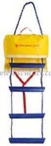 Emergency Boat Boarding Ladder 94 cm 3 Steps RIB Foldable Safety EMLAD3