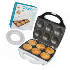Mini Pie and Quiche Maker- Pie Baker Cooks 6 Small Pies and Quiches in Minutes-