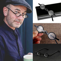 Designer Retro Style Glasses Small Round Reading Glasses +1.5 +2 +2.5 +3-best