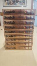 9 Scotch Pro Camera EXG T-120 Videocassette in Album Box Exceptional Moments NEW