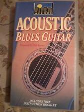 ACOUSTIC BLUES GUITAR by Mel Reeves with booklet VHS PAL UK Video POST FREE