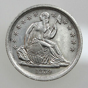 1839 10C SEATED LIBERTY SILVER DIME