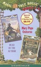 Magic Tree House: Books 5 & 6: Night of the Ninjas, Afternoon on the Amazon
