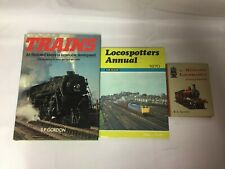 3x Vintage Train Books Locospotters Annual 1970 Trains History Locomotive Pocket