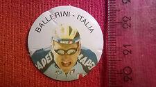 Biglie ciclisti anni 90 figurina interna BALLERINI ITALIA