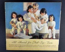 Original 1936 Dionne Quintuplet Paper Doll Set - Unused