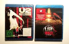 Lot Blu-ray U2 - neufs : RATTLE AND HUM + U2 360° AT THE ROSE BOWL