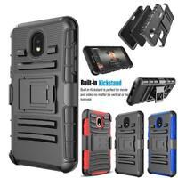 For Samsung Galaxy J3 Orbit/S367VL Armor Belt Clip Holster Shockproof Cover Case