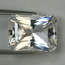 SUPERB  LUSTROUS - BEST GRADE  RADIANT CUT * 8.79 ct  NATURAL DANBURITE _ 1333 S