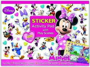 NEW DISNEY MINNIE MOUSE ULTIMATE STICKER ACTIVITY PAD BOOK