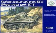 UM BT-5 Serbatoio Russo Carro armato incl. Parti di acquaforte 1:72 Modello kit