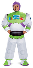 Buzz Lightyear Boys Child Toy Story 4 Inflatable Space Ranger Costume