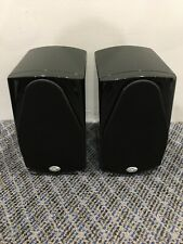 NHT Absolute Zero Bookshelf Speaker (Black, Pair)