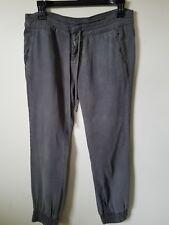 6d807d0b020 PAIGE Khaki Tencel Drawstring Waist Pants Size 24 Made in USA