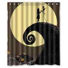 Nightmare before Christmas Jack Shower Curtain Waterproof Bathroom Decor 60 x 72